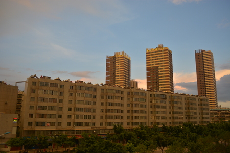 Landscape view of an apartments