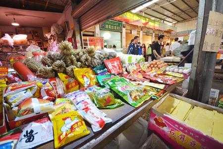 中國街頭蔬菜市場