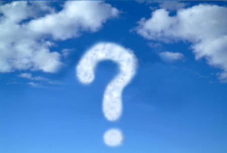 wonderment: Question Mark Cloud