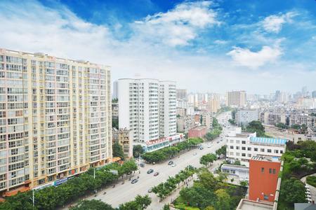 rise: high rise apartment