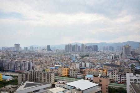 live work city: Kunming city , China
