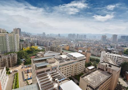 building estate: Kunming city , China