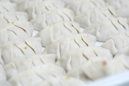 potstickers: Fresh hand made Chinese dumplings