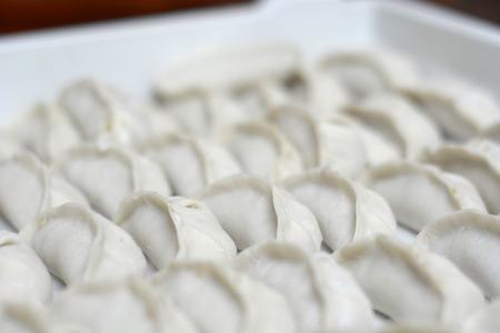 원시 수제 중국 만두
