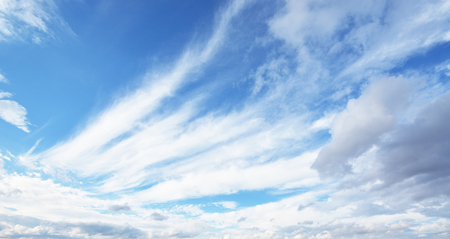 apparent: cloud and blue sky Stock Photo
