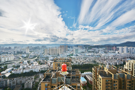 south east: Kunming cityscape, the most famous city in South East china Stock Photo