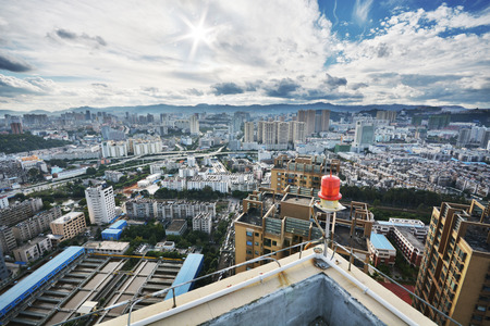 Kunming cityscape, the most famous city in South East china Stock Photo