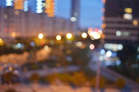 megapolis: city night light, Bokeh background