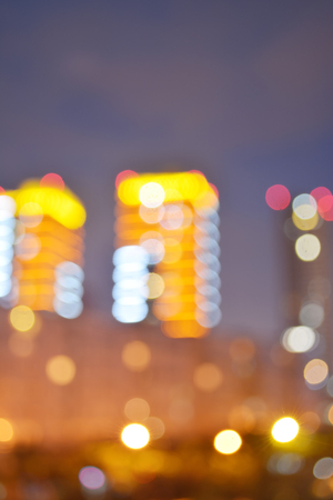 ligh: beautiful Bokeh ligh city