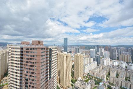 kunming: Kunming city panorama cityscape