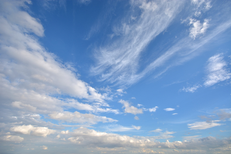 apparent: Blue Sky and Clouds Stock Photo