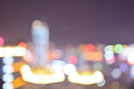 city light: city light bokeh