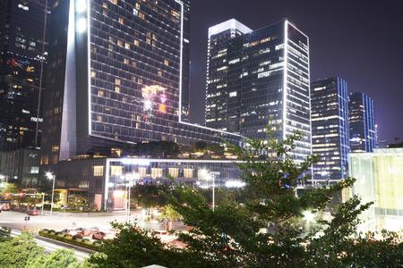在深圳的城市廣場