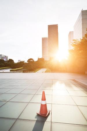 摩天大樓在深圳市,中國的現代剪影