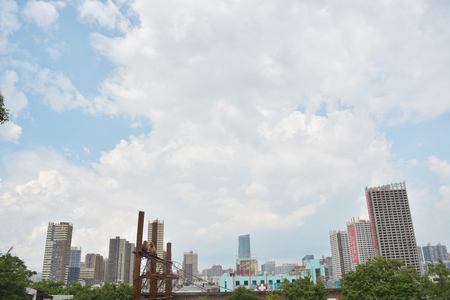 Landscape view of a city in China 新聞圖片