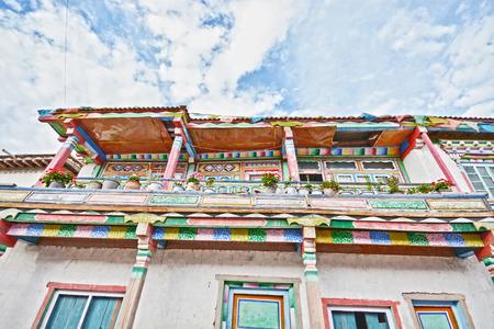 tibetan house: tibetan residential house Editorial