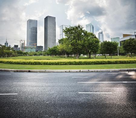 瀝青路面和城市景觀