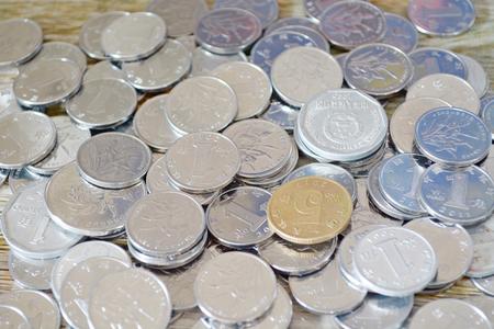 中國人民幣硬幣 版權商用圖片 - 48271083
