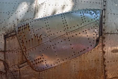 飛機的翅膀紋理