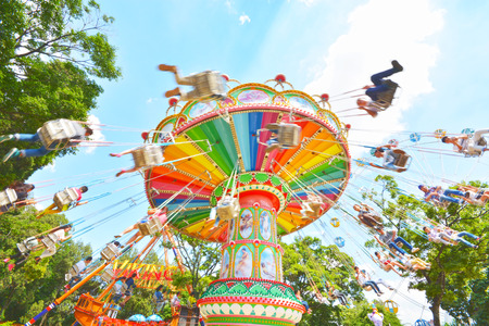 chairoplane: Swing ride at fair