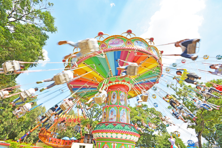 marry go round: amusement park