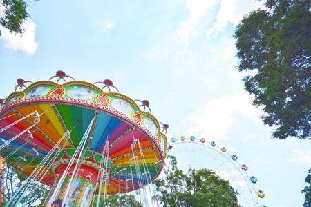 marry go round: swing seat  amusement ride