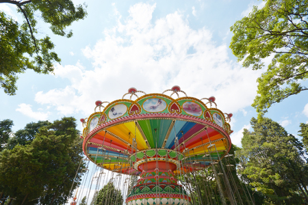 exciting: swing seat exciting amusement ride