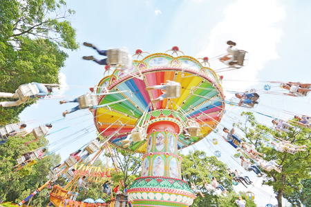 marry go round: swing seat- exciting amusement ride