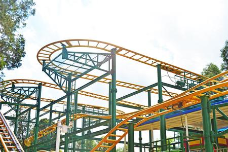 pleasure: Roller Coaster Track pleasure ground