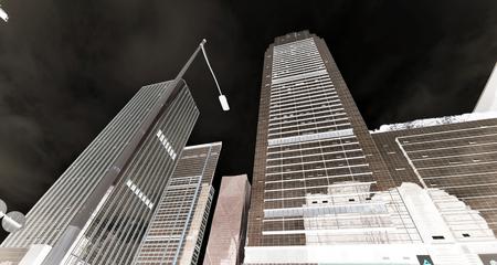 Skyline of Shenzhen City 新聞圖片