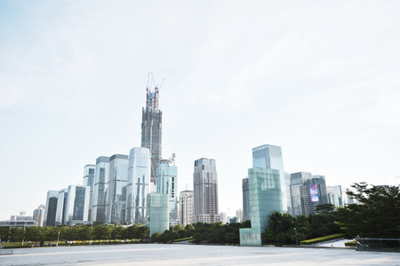 futian: Futian CBD in shenzhen city , china