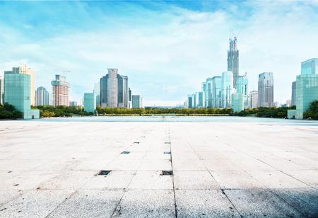 futian: Futian with modern building CBD in shenzhen city , china