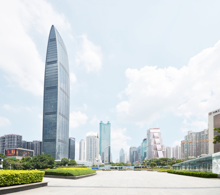 modern building in shenzhen china 新聞圖片