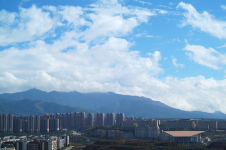 reside: city under cloud sky