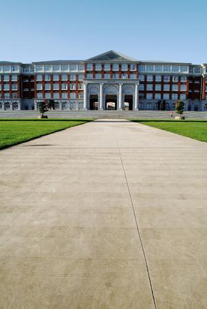 greece granite: University hall building