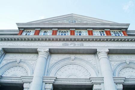 greece granite: hall building