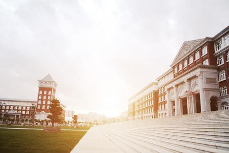 greece granite: university building Editorial