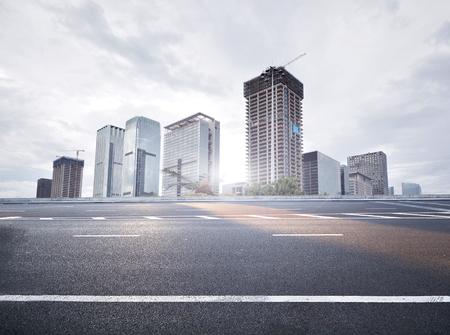 城市道路 版權商用圖片
