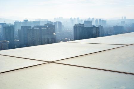 樓頂平台視圖