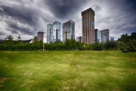 shenzhen city landscape view