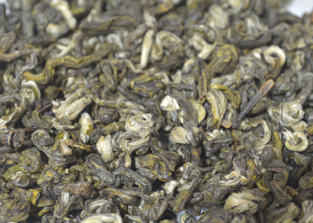 Close up view of tea leaves 版權商用圖片 - 81698264