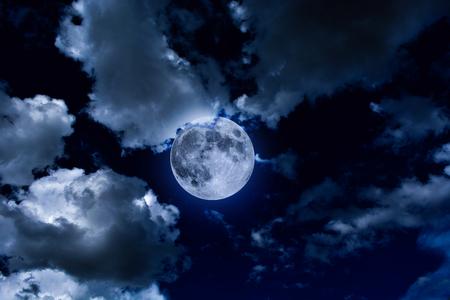 mood moody: Dark overcast full moon night