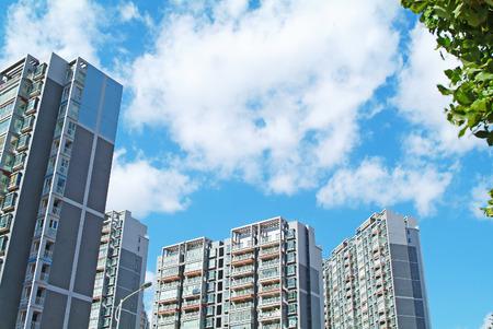 公寓樓在一個城市