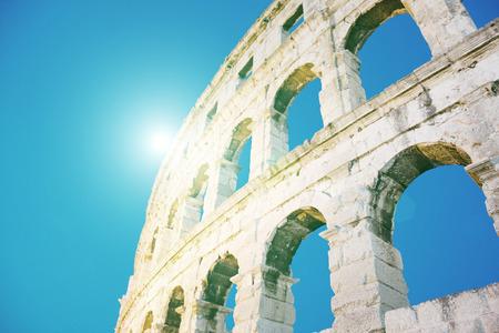 Colosseum under sunlight