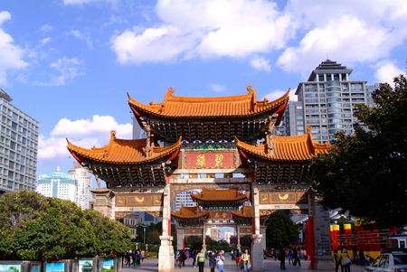 Traditional Style Eaves of China Editorial