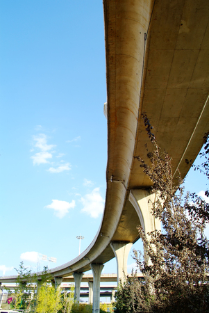 Viaduct of the city