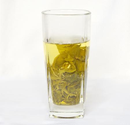 綠茶杯 版權商用圖片 - 71462735