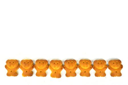 小熊餅乾 版權商用圖片 - 71462743