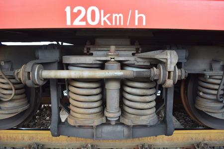 火車輪 版權商用圖片 - 71411022