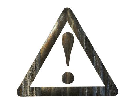 garabatos: Signo de exclamación para la atención Foto de archivo